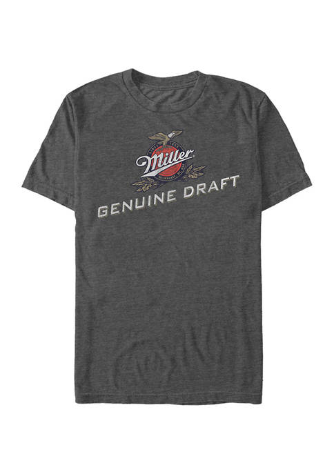 Miller Coors Brewing Company - Genuine Draft Graphic Short Sleeve T-Shirt
