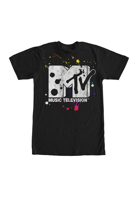 MTV Paints Graphic Short Sleeve T-Shirt