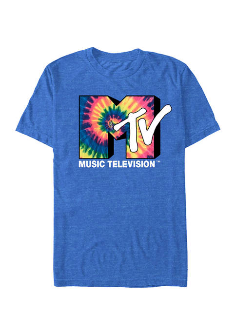 Vintage Tie Dye Graphic Short Sleeve T-Shirt