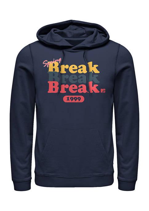 MTV Spring Break Graphic Fleece Hoodie