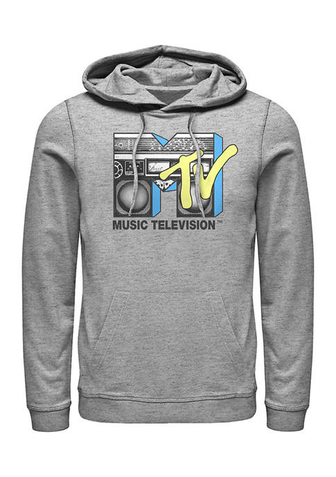 MTV Boombox Graphic Fleece Hoodie
