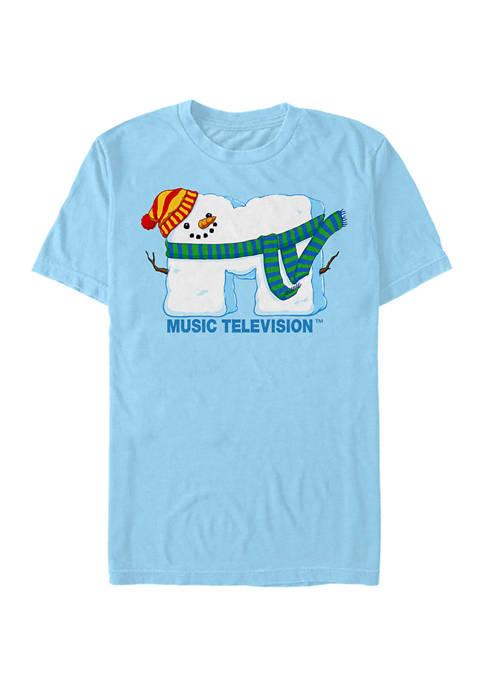 MTV SnowMan Graphic Short Sleeve T-Shirt