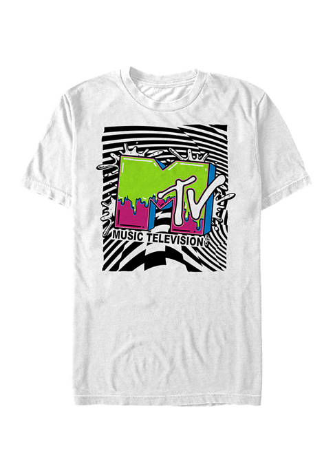 MTV Slime Graphic Short Sleeve T-Shirt