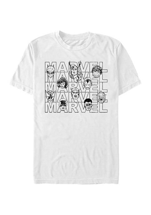 Marvel™ Marvel Heads Graphic T-Shirt