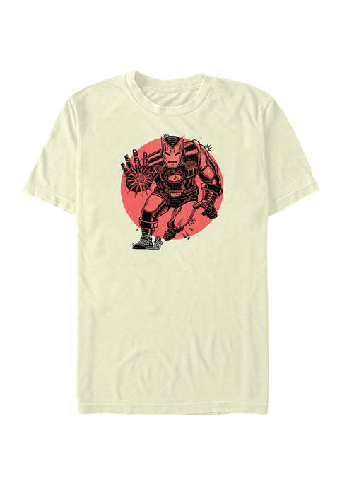 Marvel™ Ironman Red Sun Graphic T-Shirt