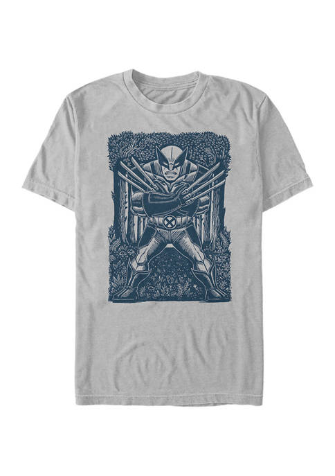 Marvel™ Wolverine Stencil T-Shirt