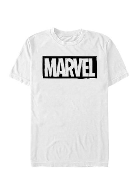 Marvel™ Logo Linocut T-Shirt