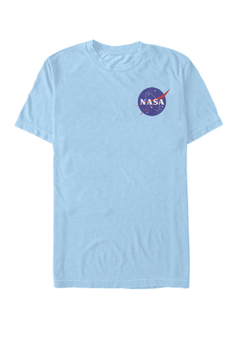 NASA Faded Simple Logo Short-Sleeve T-Shirt