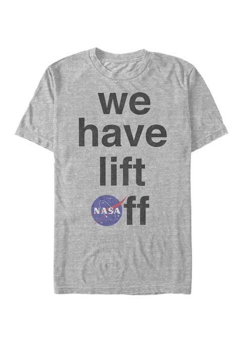 NASA We Have Lift Off Short Sleeve T-Shirt