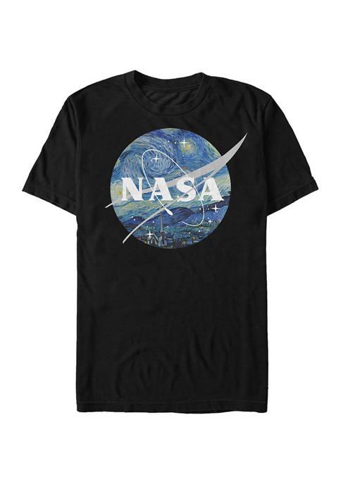Big & Tall NASA Starry Graphic Short Sleeve T-Shirt