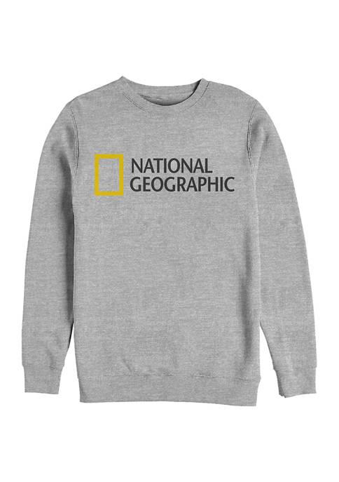 Logo Graphic Crew Fleece Sweatshirt