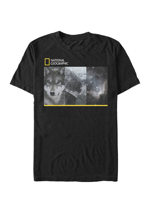 Trio Photo Graphic Short Sleeve T-Shirt
