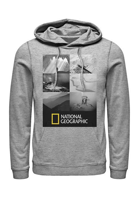National Geographic Panel Shots Graphic Fleece Hoodie
