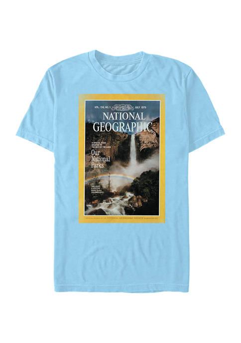 July Rainbow Graphic Short Sleeve T-Shirt