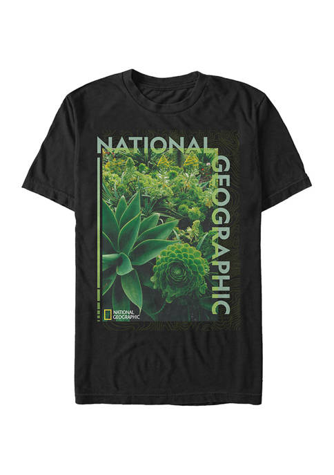 National Geographic Greenery Graphic Short Sleeve T-Shirt