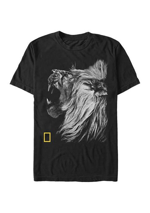 Nat Geo Lion Graphic Short Sleeve T-Shirt