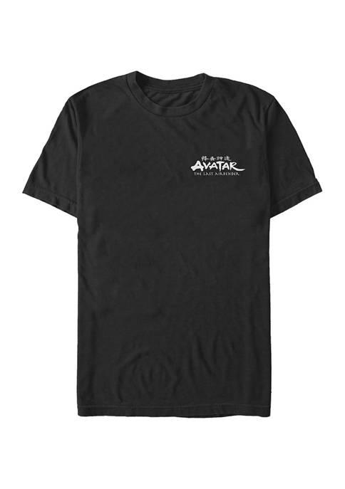 Big & Tall Avatar: The Last Airbender Logo Benders Graphic Short Sleeve T-Shirt