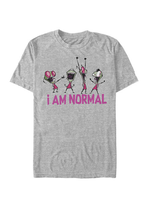 Nickelodeon™ Invader Zim I Am Normal! Short Sleeve