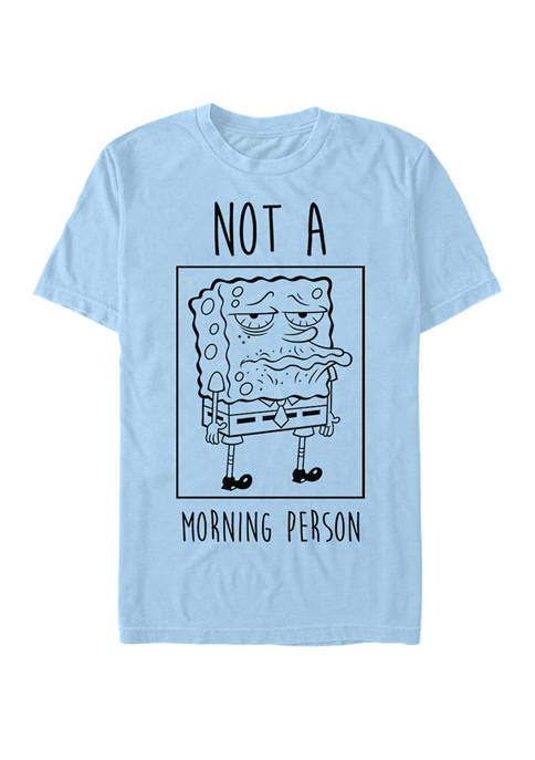 Nickelodeon™ Spongebob Squarepants Not A Morning Person Short