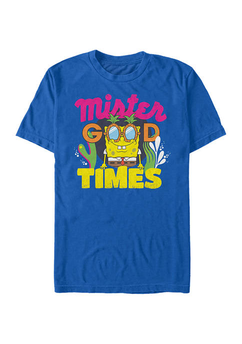 Nickelodeon™ Spongebob Squarepants Mister Good Times Short Sleeve