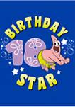 Patrick Birthday Eighteen Graphic Short Sleeve T-Shirt