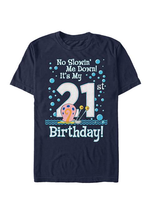 Nickelodeon™ Gary Bday 21st Graphic Short Sleeve T-Shirt