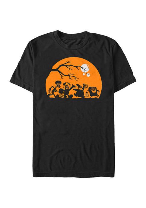 Big & Tall Spongebob Haunt Graphic Short Sleeve T-Shirt