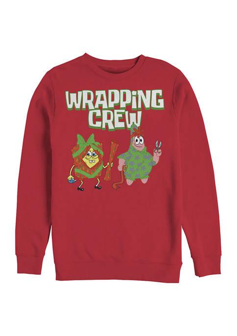 Fifth Sun™ SpongeBob Fleece Crew Neck Sweater