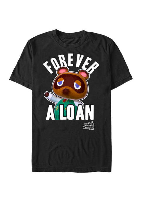 Big & Tall Nintendo Forever A Loan Graphic