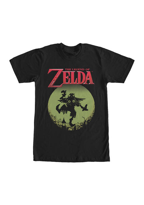 Big & Tall Nintendo Majora Moon Graphic Short Sleeve T-Shirt