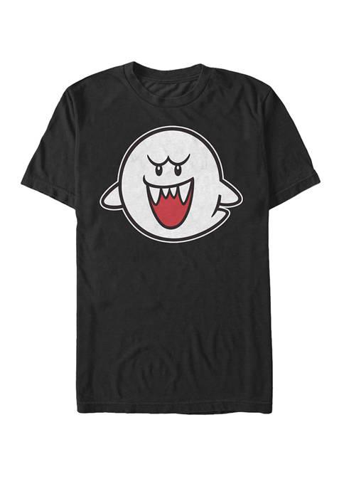 Nintendo Super Mario Boo Character Portrait Short-Sleeve T-Shirt