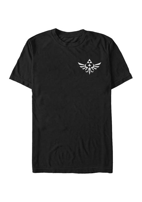 Big & Tall Nintendo Triforce Pocket Graphic Short Sleeve T-Shirt