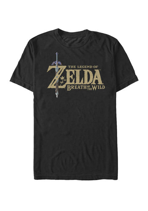 The Legend of Zelda Breath of the Wild Color Alter Logo Short-Sleeve T-Shirt