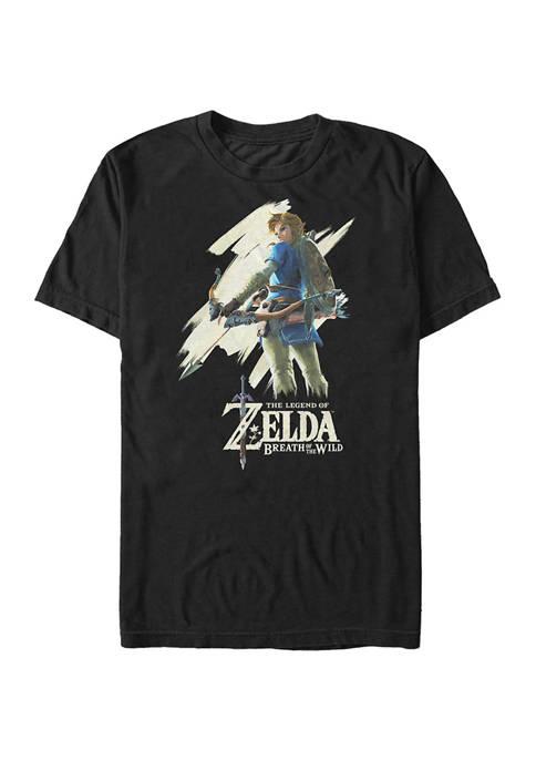 Big & Tall Nintendo Basic Breath Graphic Short Sleeve T-Shirt