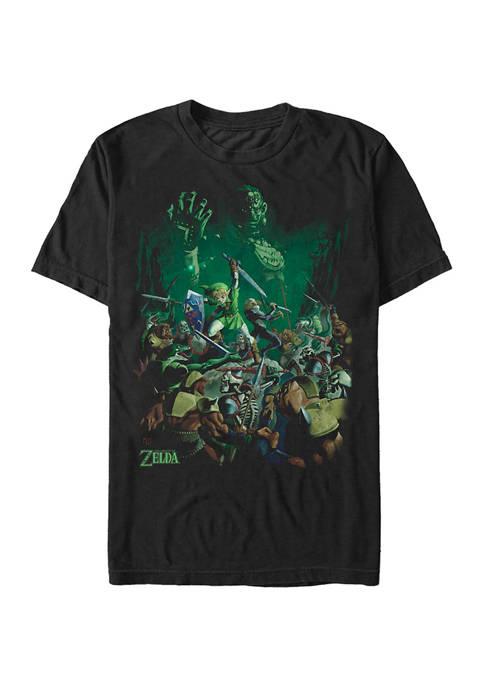 Big & Tall Nintendo® Ganons Hyrule Graphic Short Sleeve T-Shirt