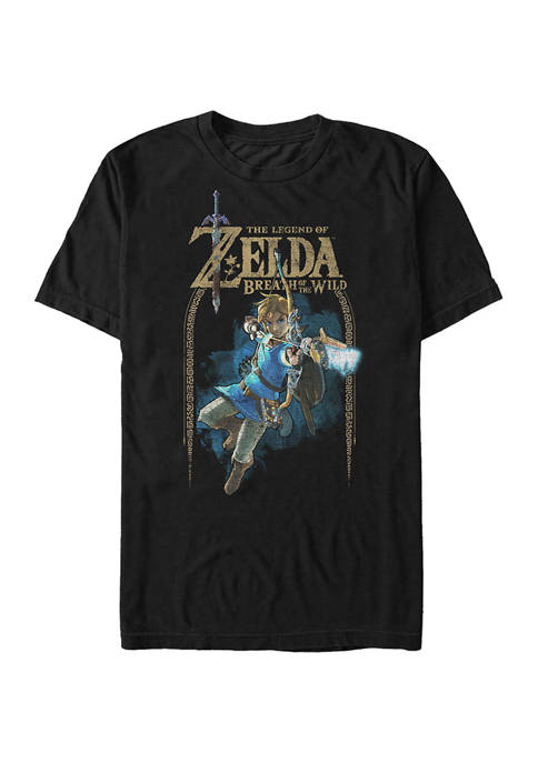 Big & Tall Nintendo® Wild Arch Graphic Short Sleeve T-Shirt