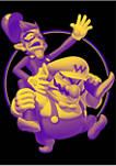 Big & Tall Nintendo Wario Bros Graphic Short Sleeve T-Shirt