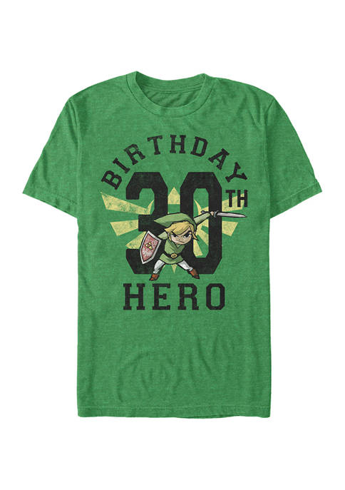 Link Birthday 30 Graphic Short Sleeve T-Shirt