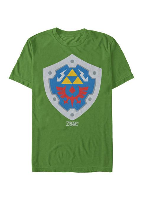 The Legend of Zelda Links Awakening Hylian Shield Short Sleeve T-Shirt