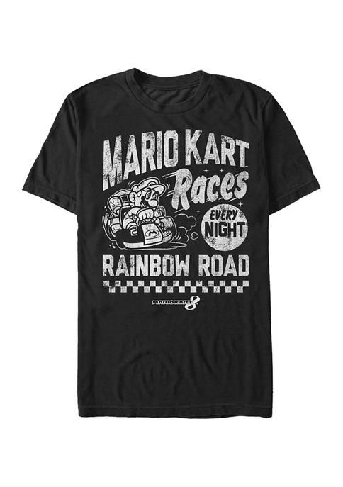 Big & Tall Nintendo® Race Nights Graphic Short