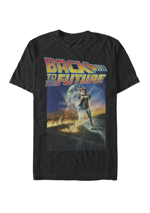 Back To The Future Classic Movie Poster Short