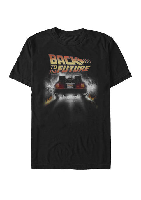 Back To The Future Vintage DeLorean Peel Out