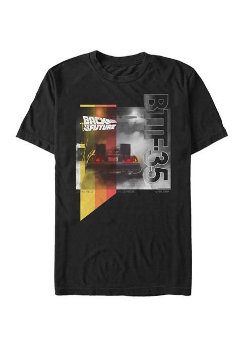 Back To The Future BTTF Smoke Graphic T-Shirt