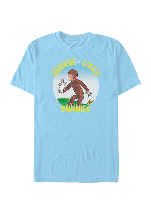 Curious George Likes Bunnies Graphic T-Shirt