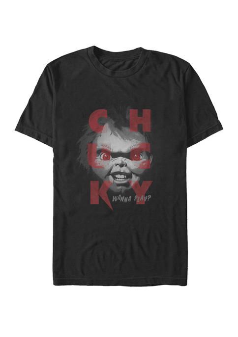 Chucky Wanna Play Short Sleeve T-Shirt