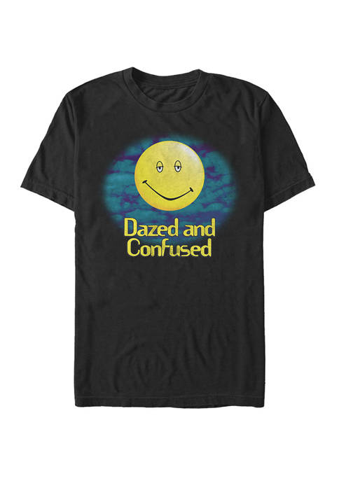 Dazed and Confused Yellow Smiley Haze Logo Short