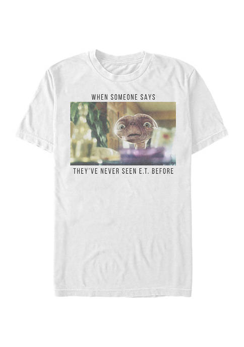 E.T. the Extra-Terrestrial Meme Graphic T-Shirt