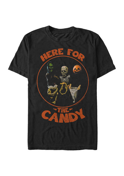 Here For The Candy Graphic T-Shirt