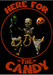 Big & Tall Halloween II Here For The Candy Graphic Short Sleeve T-Shirt