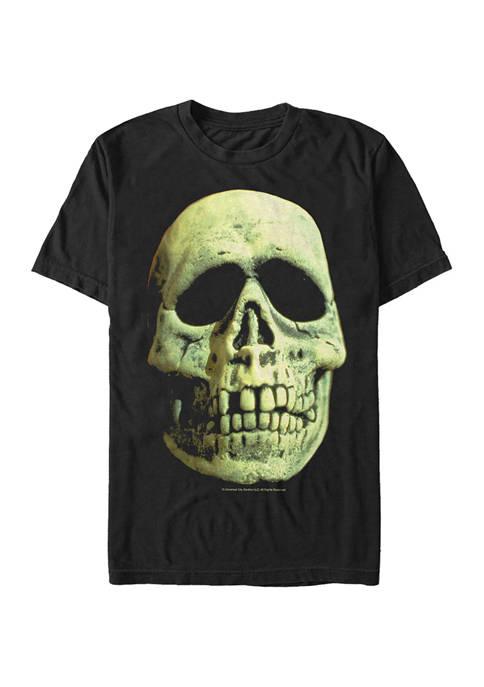 Skeleton Mask Graphic T-Shirt
